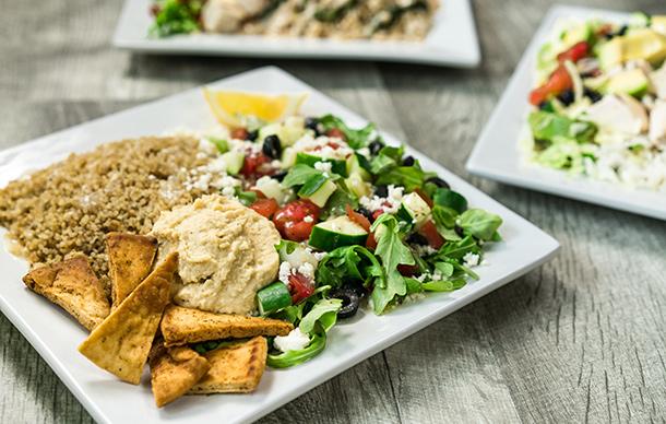 Giardinos healthy meal