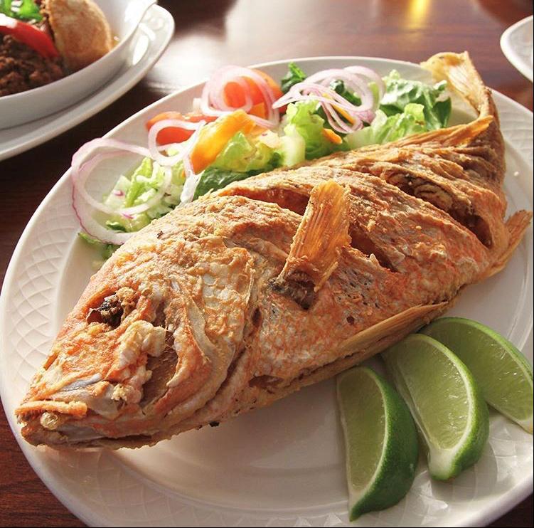 Las Vegas Cuban Cuisine fish filet